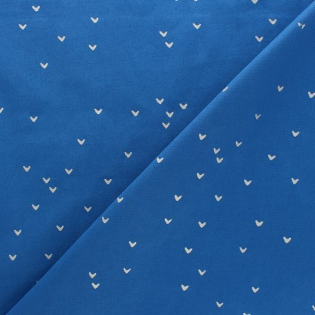 Hoffman cotton fabrics - white/Silver Me+You x 10cm