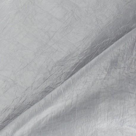 Taffetas uni gris perle