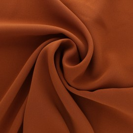 Plain Crepe fabric - Latte x 10cm