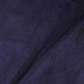 Tissu taffetas uni encre violette x 10cm
