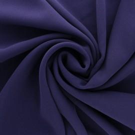 Tissu crêpe uni - rose nude x 10cm