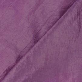 Tissu taffetas uni lilas x 10cm