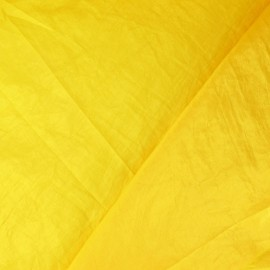 Taffetas uni jaune