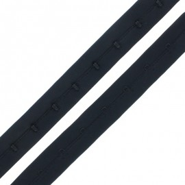 Bra Fastener - Black x 50cm