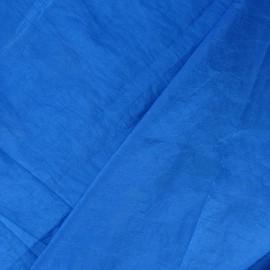 Taffetas uni bleu azur