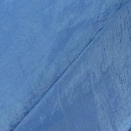 Taffetas uni bleu acier