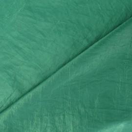 Tissu taffetas uni vert x 10cm