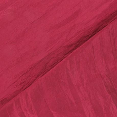 Taffeta Fabric - Pourpre x 10cm