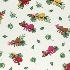 Tissu jersey Sketchy Bugs - écru x 10cm