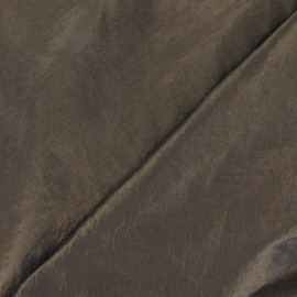 Taffeta Fabric - Dark Bronze x 10cm