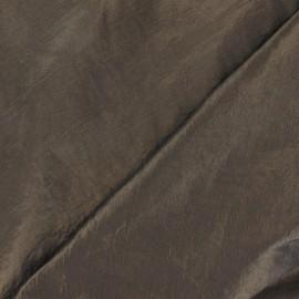 Taffetas uni bronze foncé