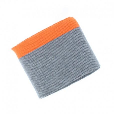 Poppy Edging Fabric (135x7cm) - Neon Orange Sport