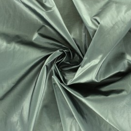 Faux leather Vinyl coated viscose - raw Shiny x 10cm