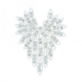 Hotfix Iron On Rhinestone - Wing Orient Jewel