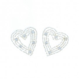 Hotfix Iron On Rhinestone - Heart Orient Jewel
