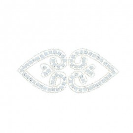Hotfix Iron On Rhinestone - Arabesque Orient Jewel