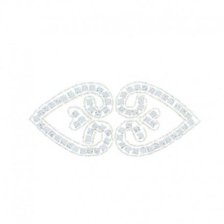 Hotfix Iron On Rhinestone - Arabesque Orient Jewel
