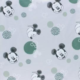 Tissu jersey Hanging Mickey - blanc x 10cm