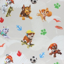 Cotton jersey fabric - Sky blue Paw Patrol x 10cm