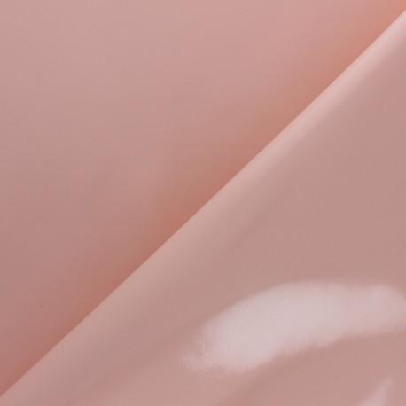 Tissu toile cirée uni - Rose Nude x 10cm