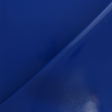 Tissu toile cirée uni - Rose bonbon x 10cm