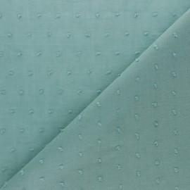 Tissu voile de coton Plumetis Bianca - nude x 10cm