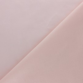 Tissu voile de coton uni Bianca - rose nude x 10cm
