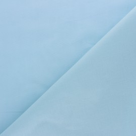 Cotton Voile Fabric - sky blue Bianca x 10cm