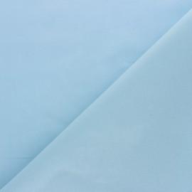 Tissu voile de coton uni Bianca - bleu ciel x 10cm