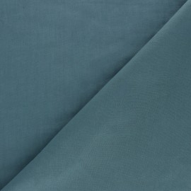 Cotton Voile Fabric - Petrol blue Bianca x 10cm