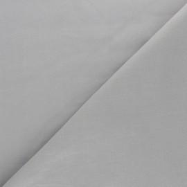 Tissu voile de coton uni Bianca - gris x 10cm