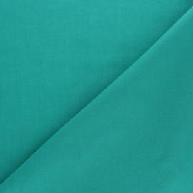 Tissu voile de coton uni Bianca - vert émeraude x 10cm