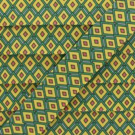 Biais Coton Vitraux 25 mm - Jaune x 1m