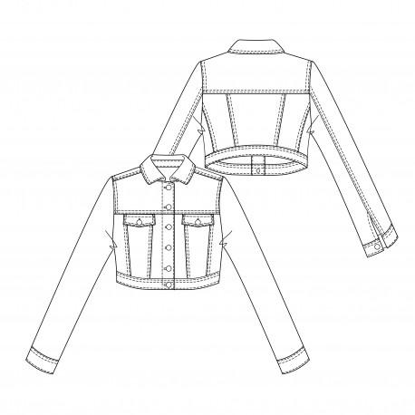 Jacket Sewing Pattern - Lot of Things Rocket