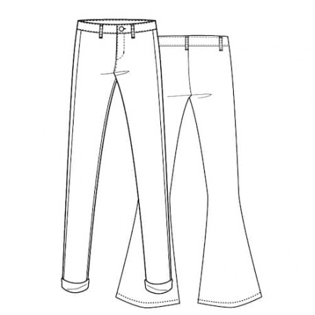 Pants Sewing Pattern - Lot of Things Allumette