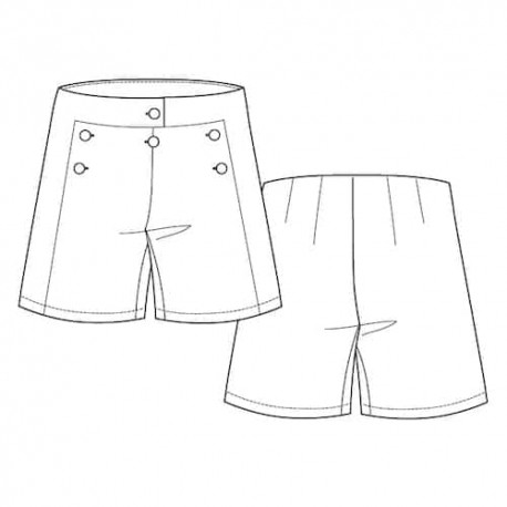 Shorts Sewing Pattern - Lot of Things Marinette