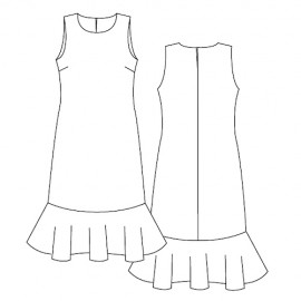 Dress Sewing Pattern - Lot of Things Midinette