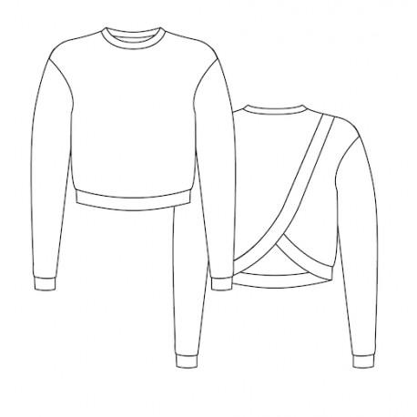 Sweatshirt Sewing Pattern - Lot of Things Douillette