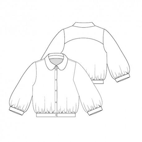 Shirt Sewing Pattern - Lot of Things Maryette