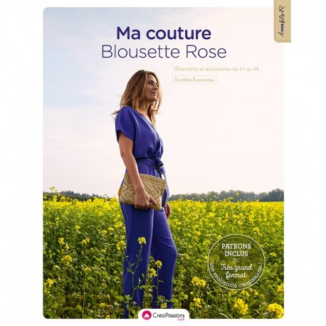 """Book """"Ma couture Blousette Rose"""""""