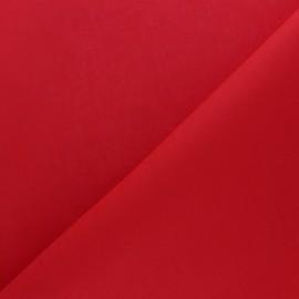 Tissu coton uni Reverie grande largeur (280 cm) - rouge x 10cm