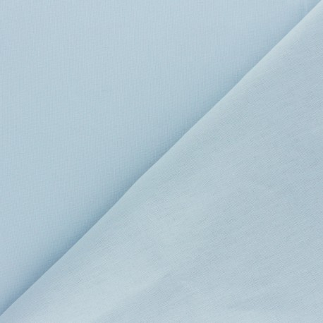 Extra wide cotton fabric (280 cm) - Teal blue x 10cm