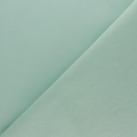 Tissu coton uni Reverie grande largeur (280 cm) - vert amande x 10cm