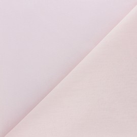 Extra wide cotton fabric (280 cm) - powder pink x 10cm