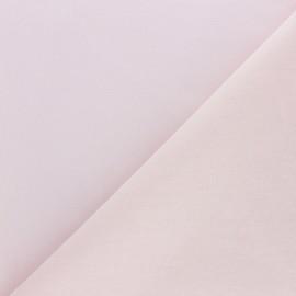 Extra wide cotton fabric (280 cm) - powder pink x 10cm