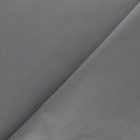 Tissu coton uni Reverie grande largeur (280 cm) - Acier x 10cm
