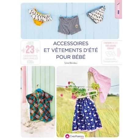 """Livre """"Accessoires et vêtements d'été pour bébé"""""""