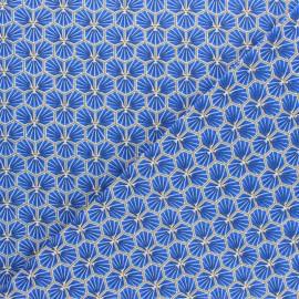 Tissu coton cretonne Riad - gris clair x 10cm