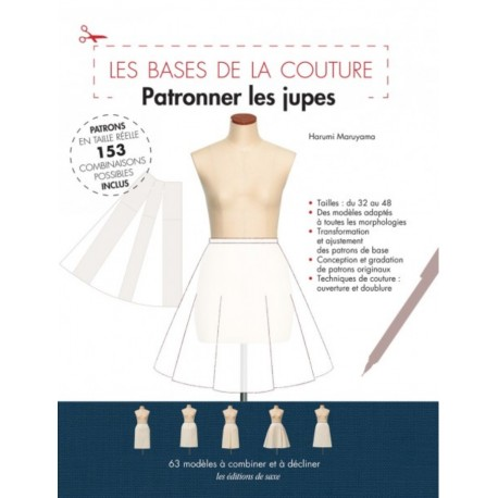 """Book """"Patronner les jupes - Les bases de la couture"""""""