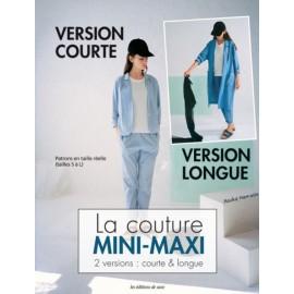 """Livre """"La couture mini-maxi 2 versions : courte & longue"""""""